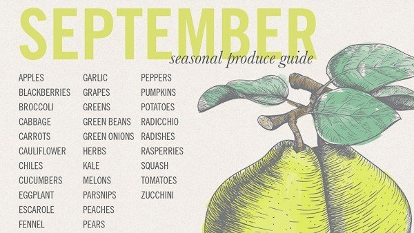 What's in Season in September
