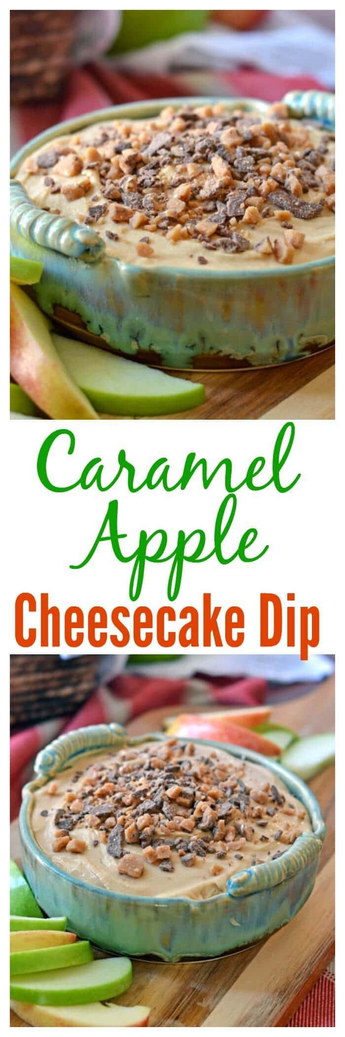 Apple Caramel Cheesecake Dip