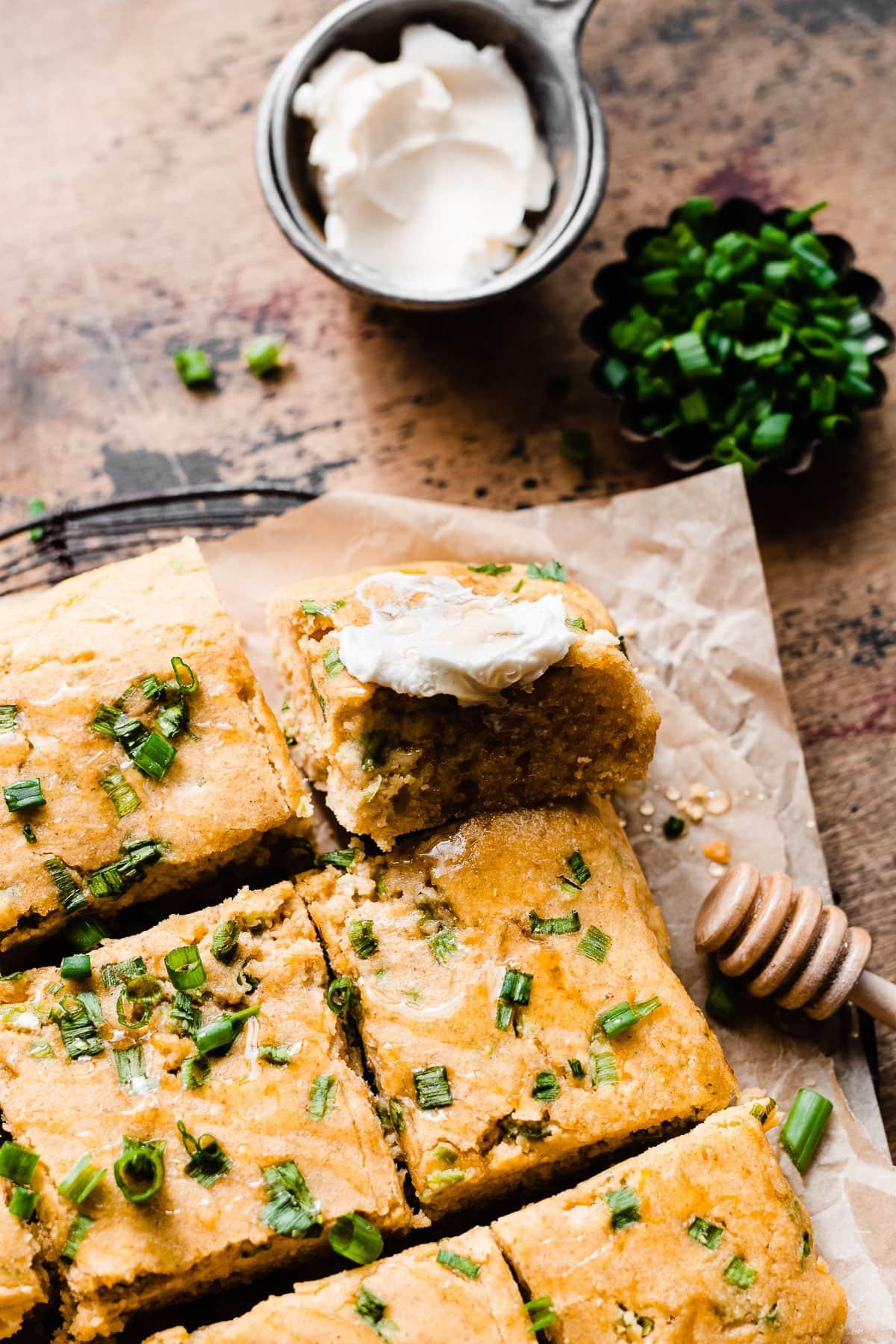Cheesy Jalapeno Cornbread