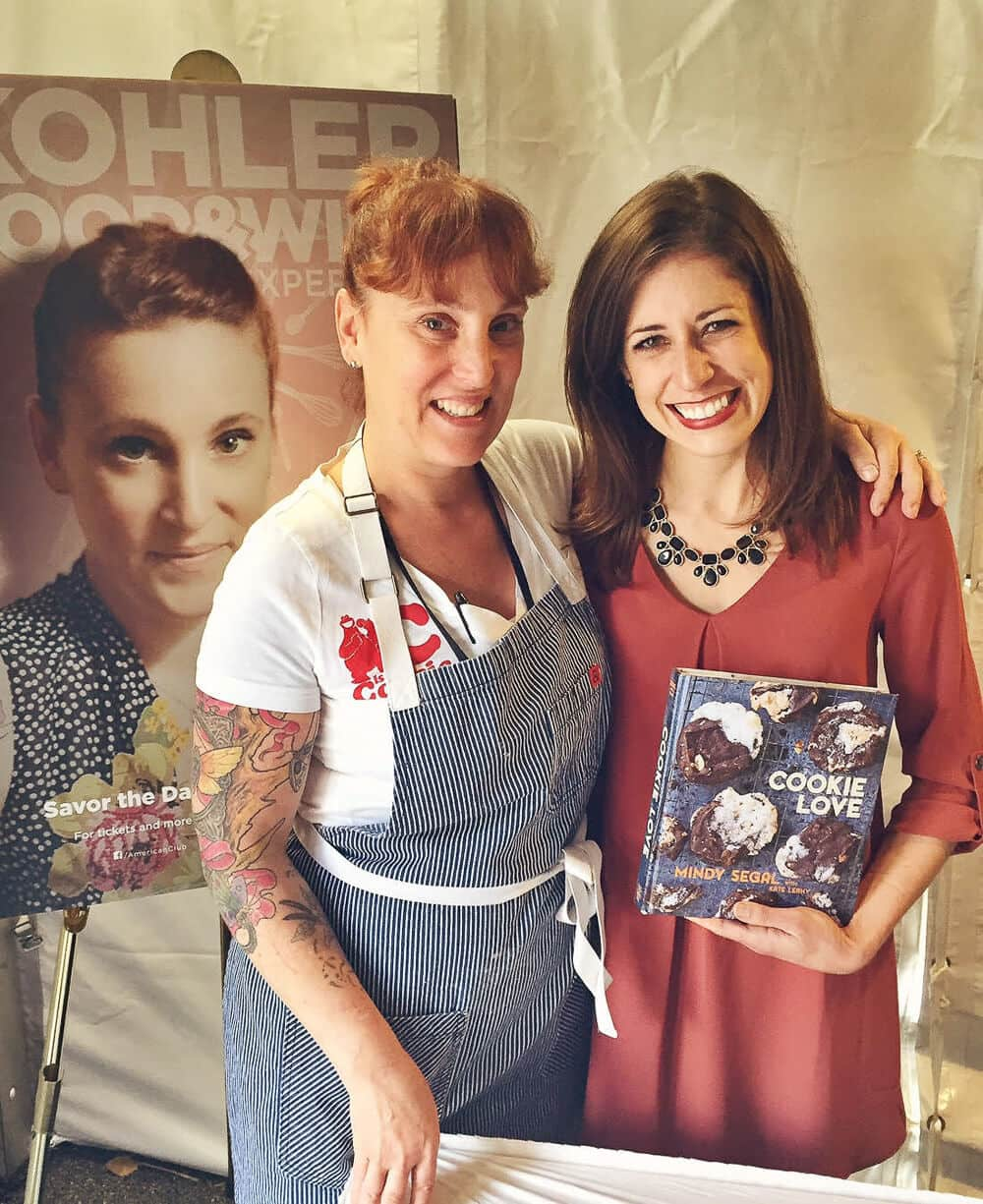 Chef Mindy Segal and Erin Clarke