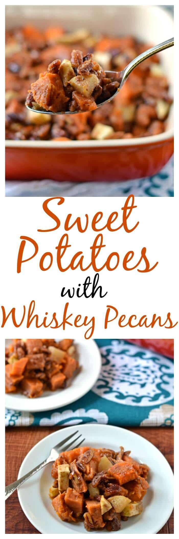 Sweet Potato with Whiskey Pecans