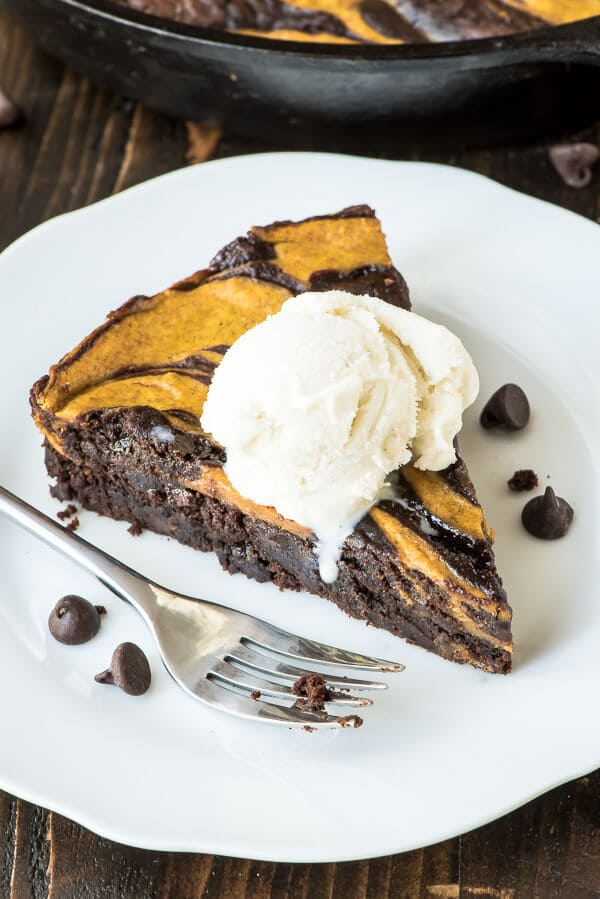 Ultimate Pumpkin Brownies recipe