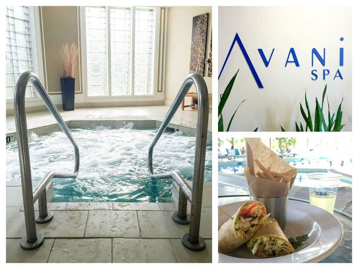 Where to stay and best spas in Lake Geneva, Wisconsin: Abbey Resort and Avani Spa