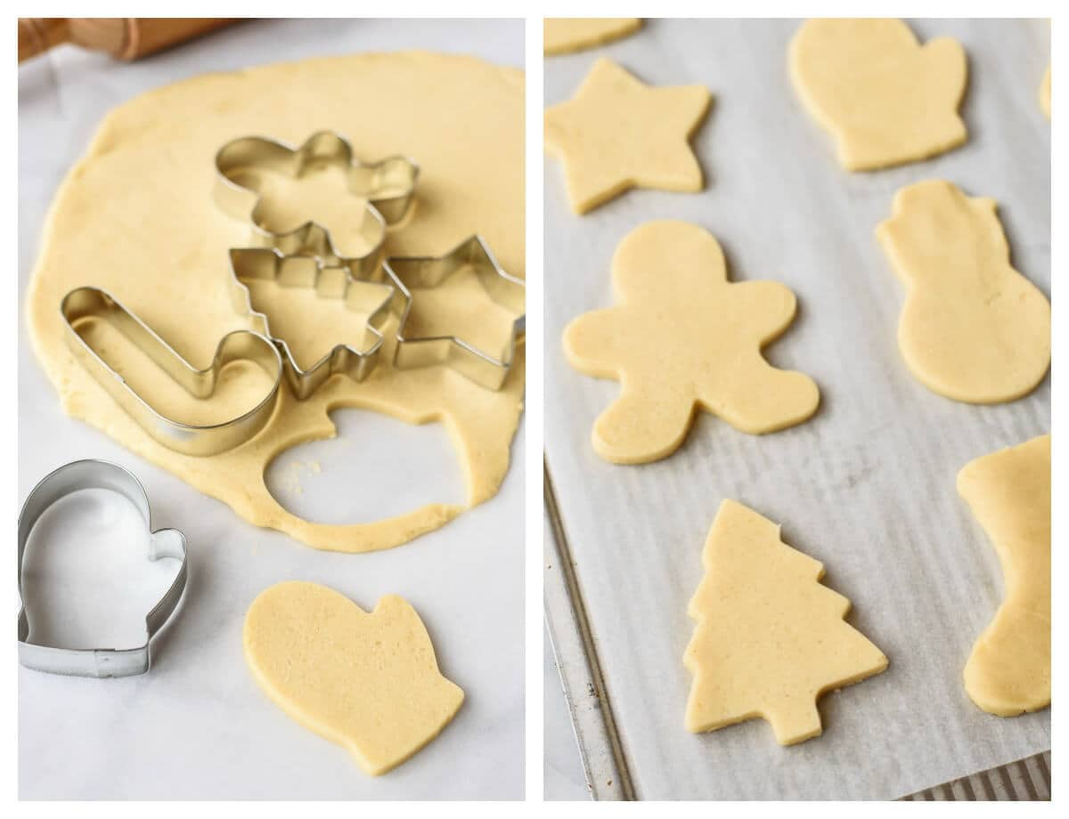 Cream Cheese Sugar Cookies recipe with step-by-step photos