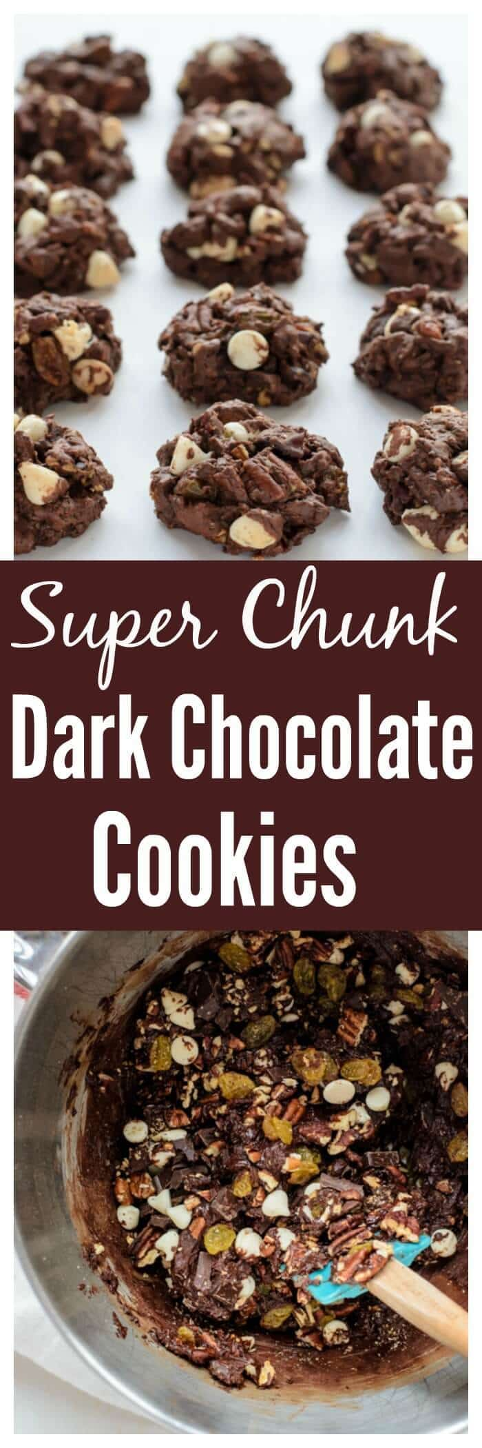 Super Chunk Dark Chocolate Cookies