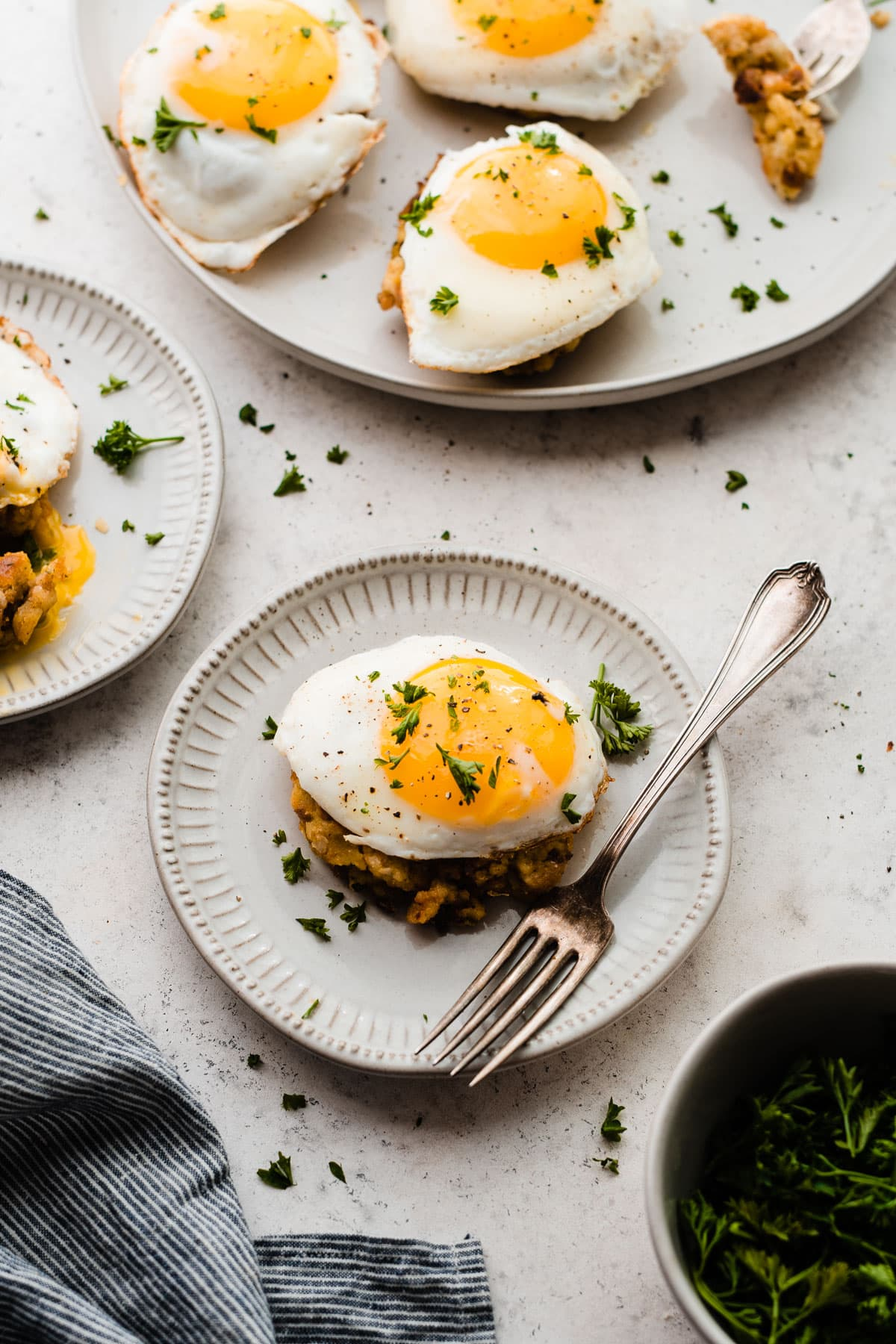 How to use your leftover Thanksgiving stuffing: Cheesy Breakfast ...