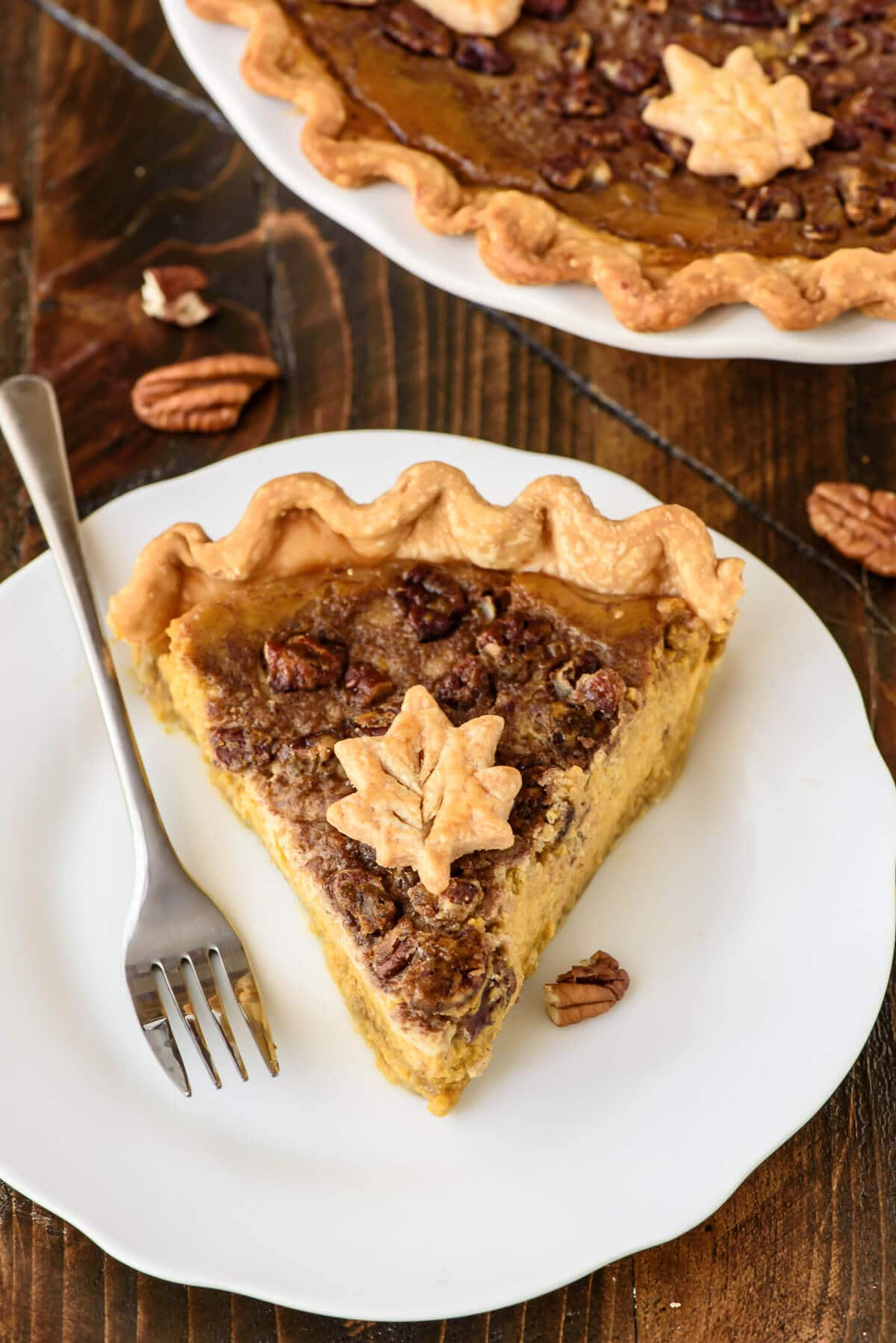 Pie with Butter Pecan Topping, plus how to bake perfect pumpkin pie ...