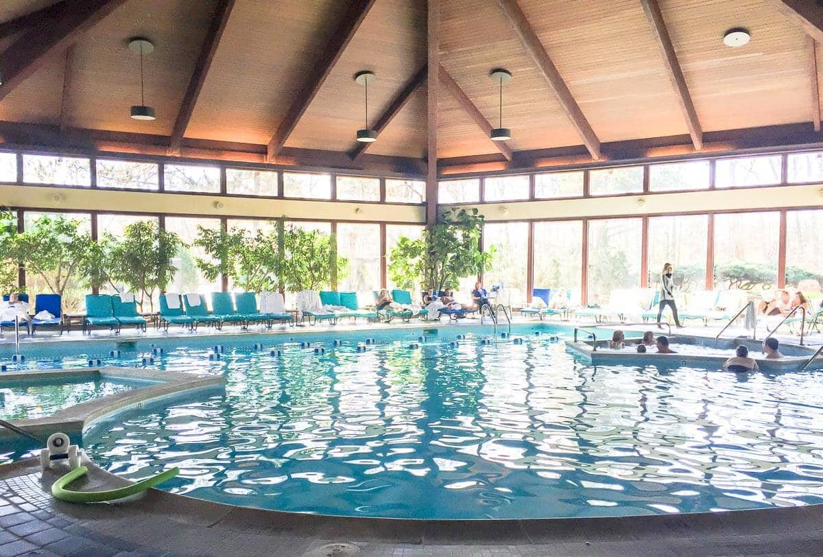 Pool at Avani Spa, a great place to stay in Lake Geneva, Wisconsin
