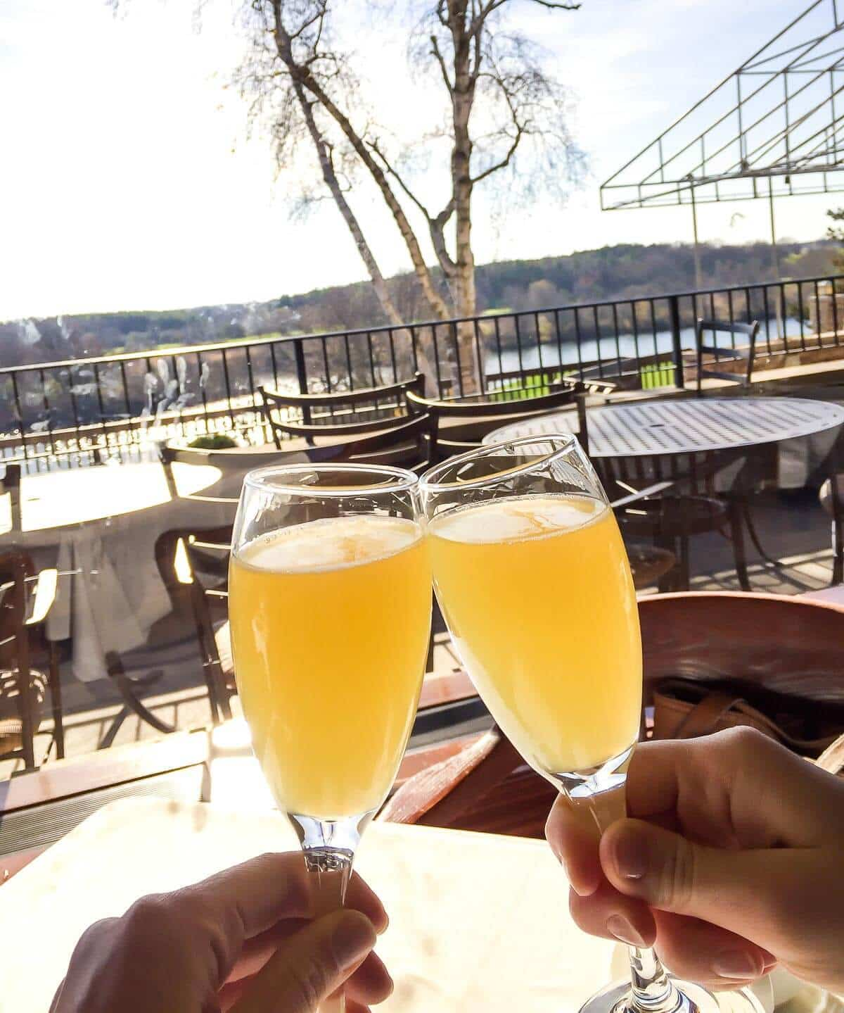 Champagne Brunch at the Grand Geneva Resort. A perfect place to eat and stay in Lake Geneva, Wisconsin