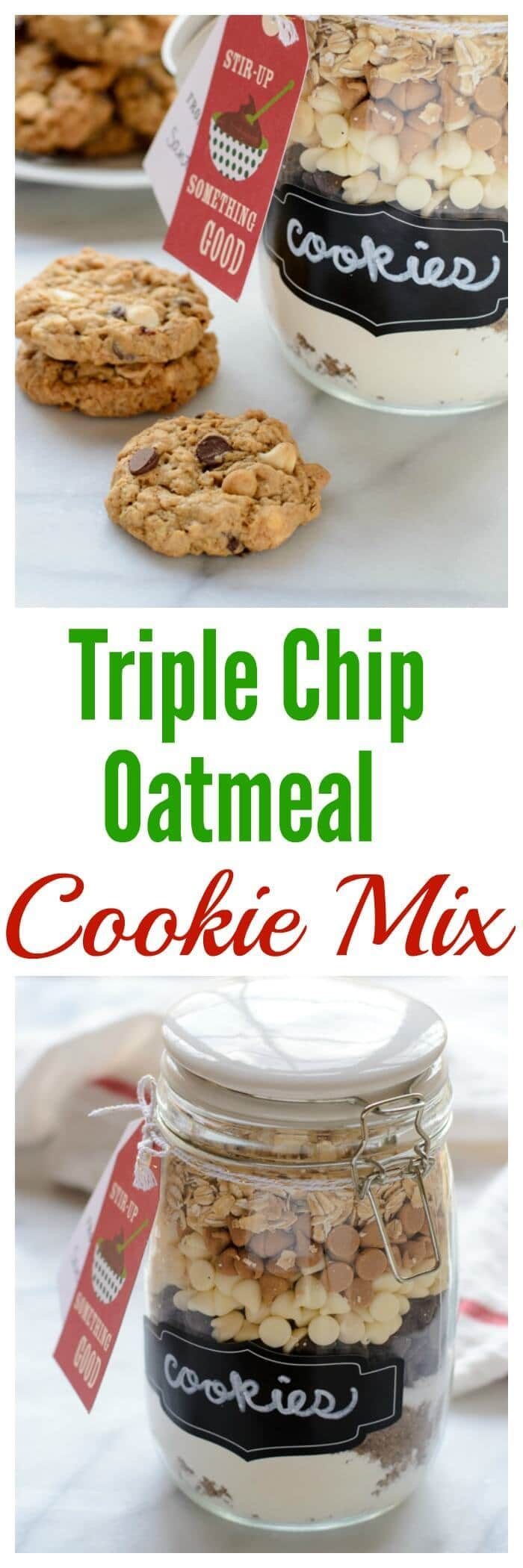 Triple Chip Oatmeal Cookie Mix