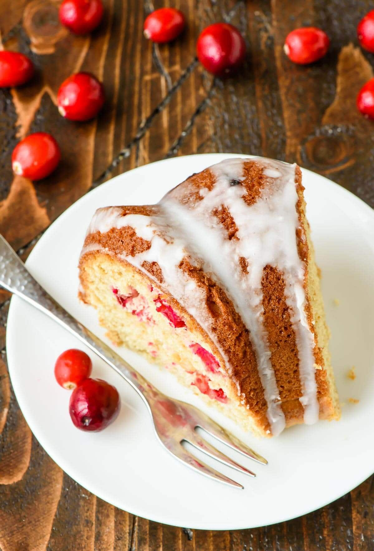 This Cranberry Sour Cream Coffee Cake Is A Total Crowd Pleaser Especially At The Holidays