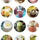 15 Healthy Breakfast Smoothies photo collage
