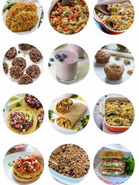 Keeping your new year's resolution to lose weight and eat healthy is simple with this list of easy healthy recipes! From dinner to dessert, this list has it all!
