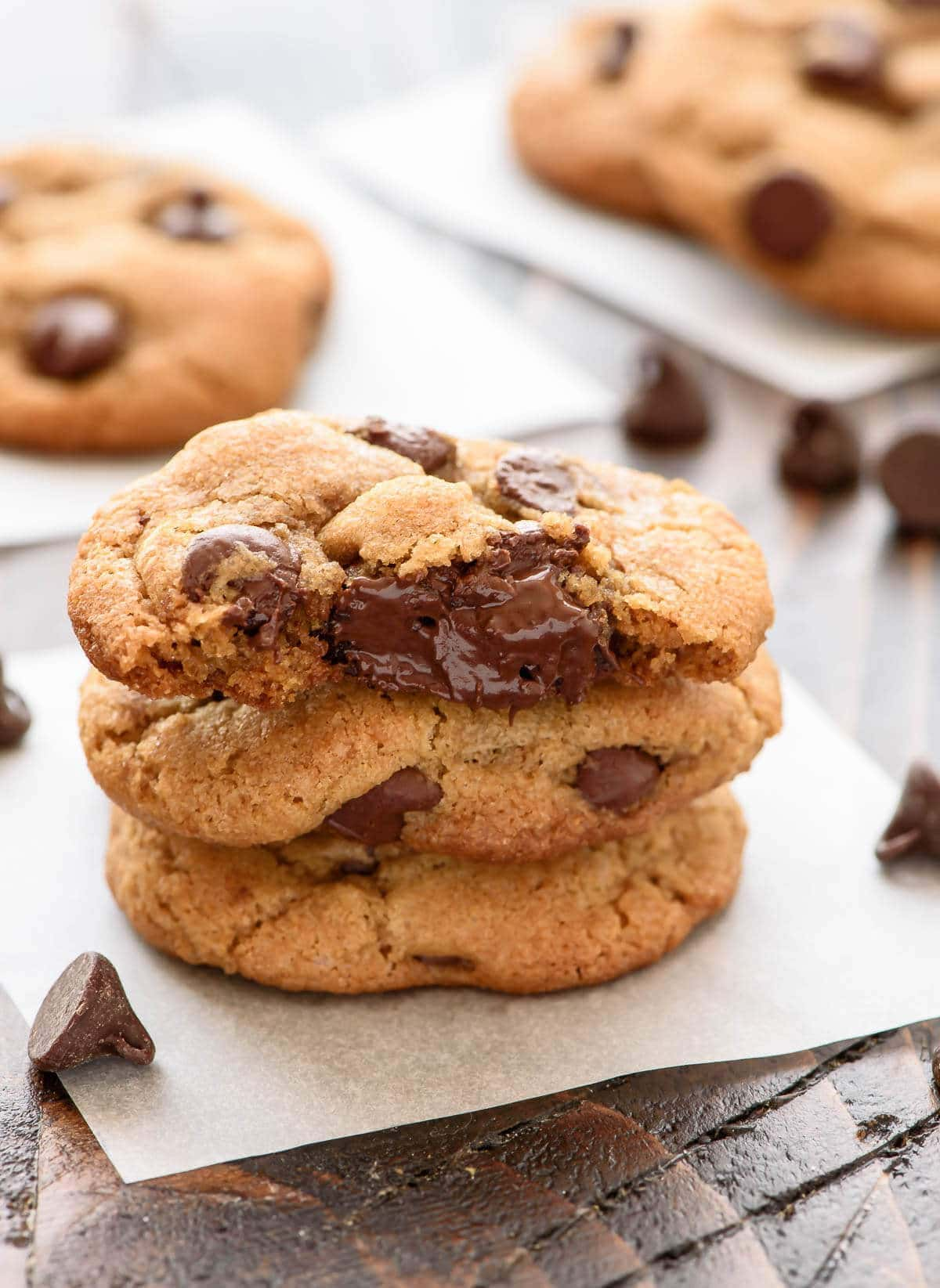 Old fashioned chocolate chip cookie 54
