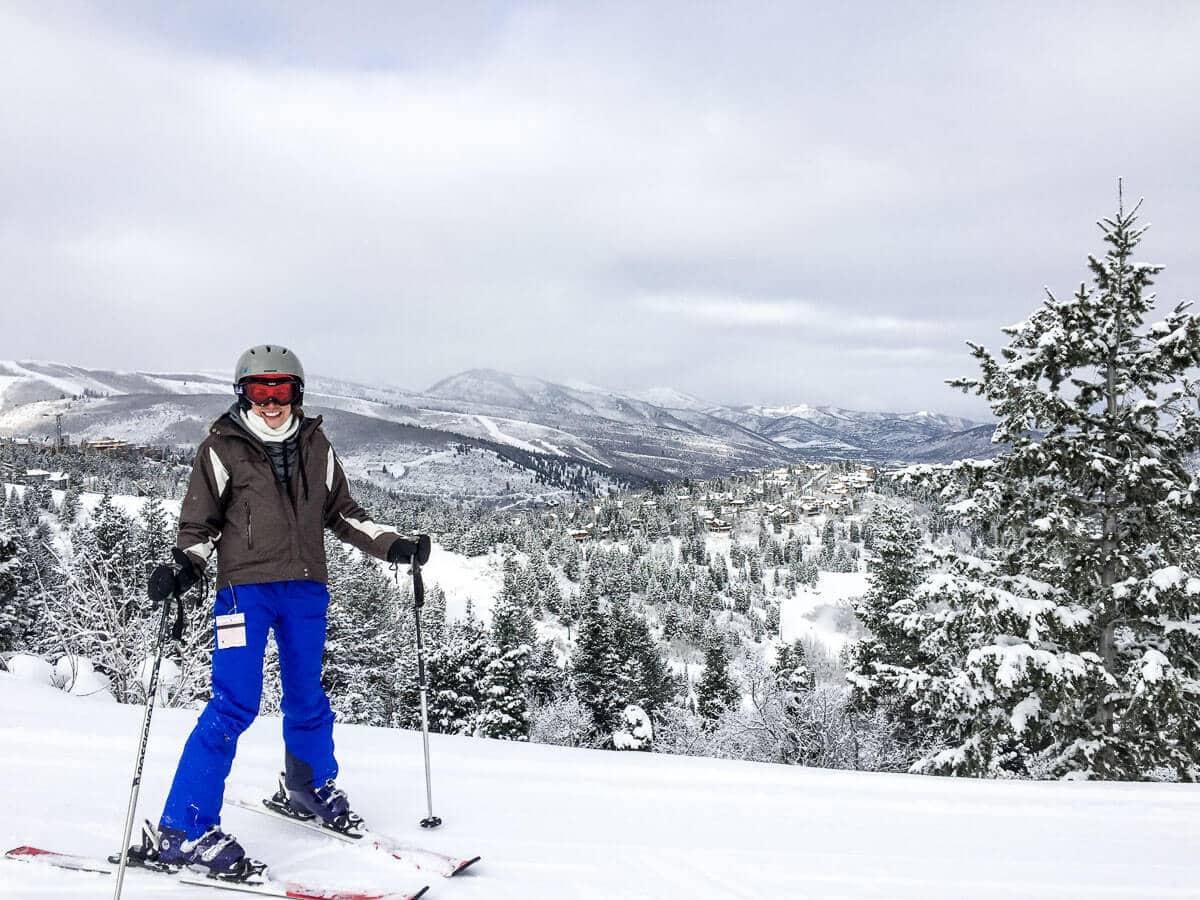 Skiing at Deer Valley, Utah. Trip Guide