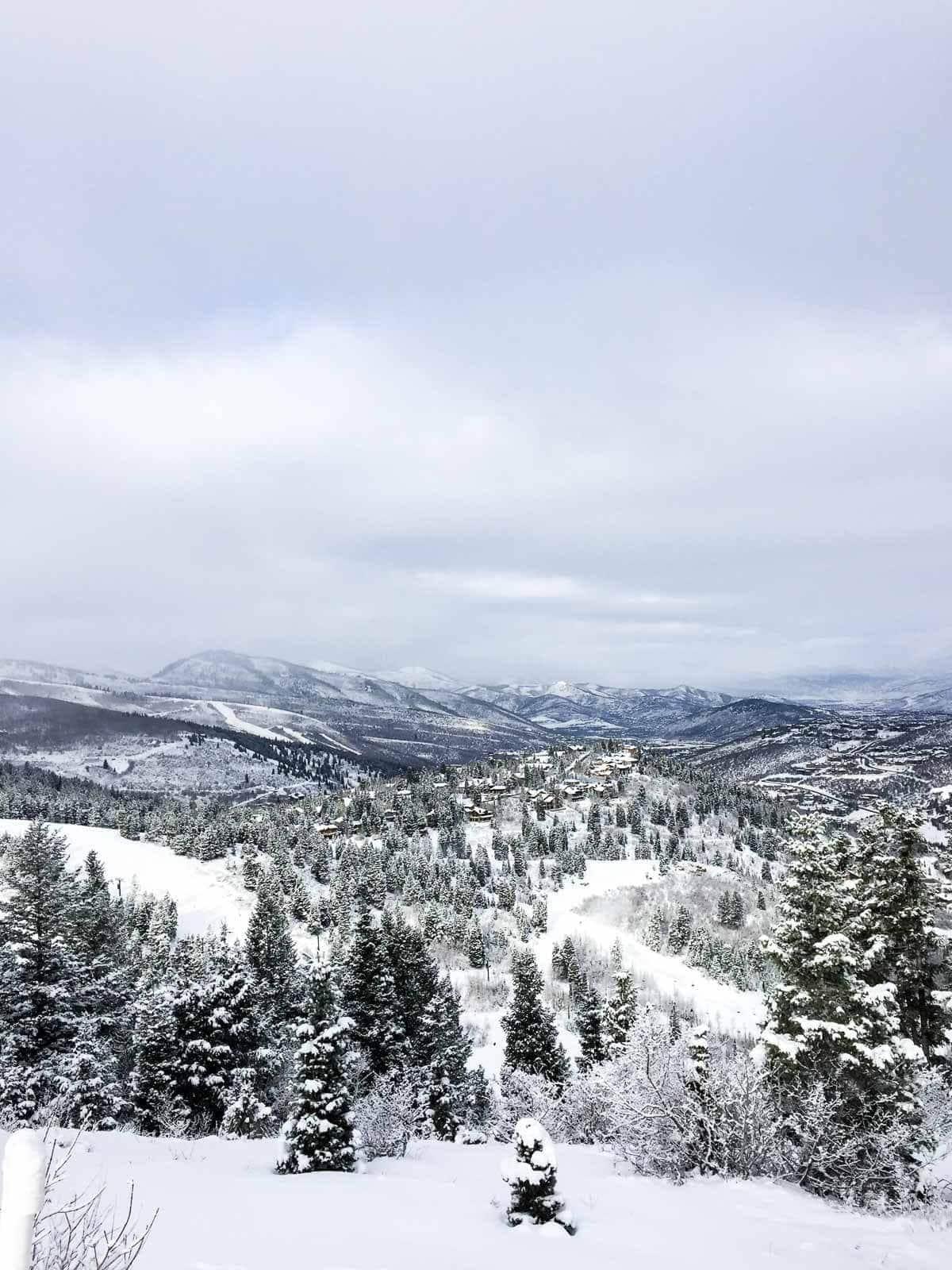 Skiing in Deer Valley, Utah