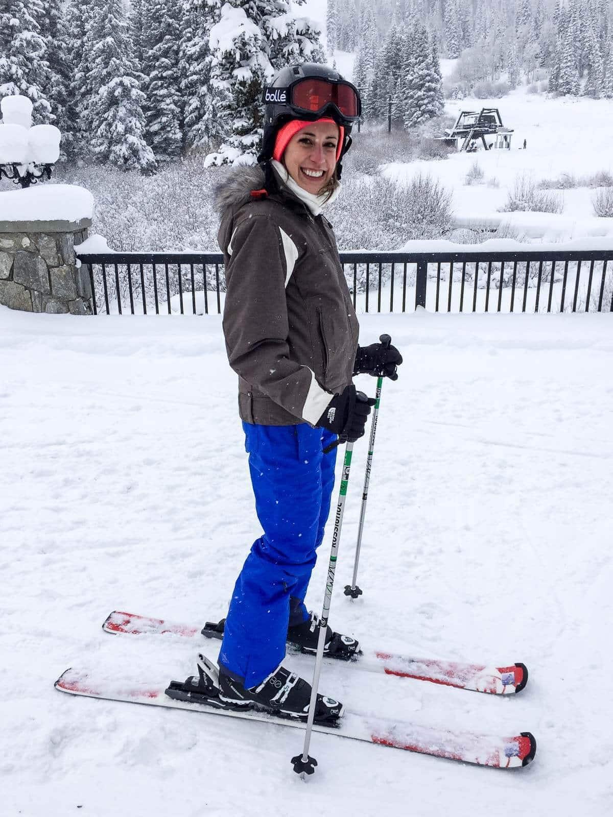 Skiing at Solitude Resort