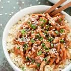 This crock pot teriyaki chicken is INCREDIBLE. The honey teriyaki sauce is out of this world and it only takes 10 minutes to prep! The perfect easy, healthy dinner. @wellplated
