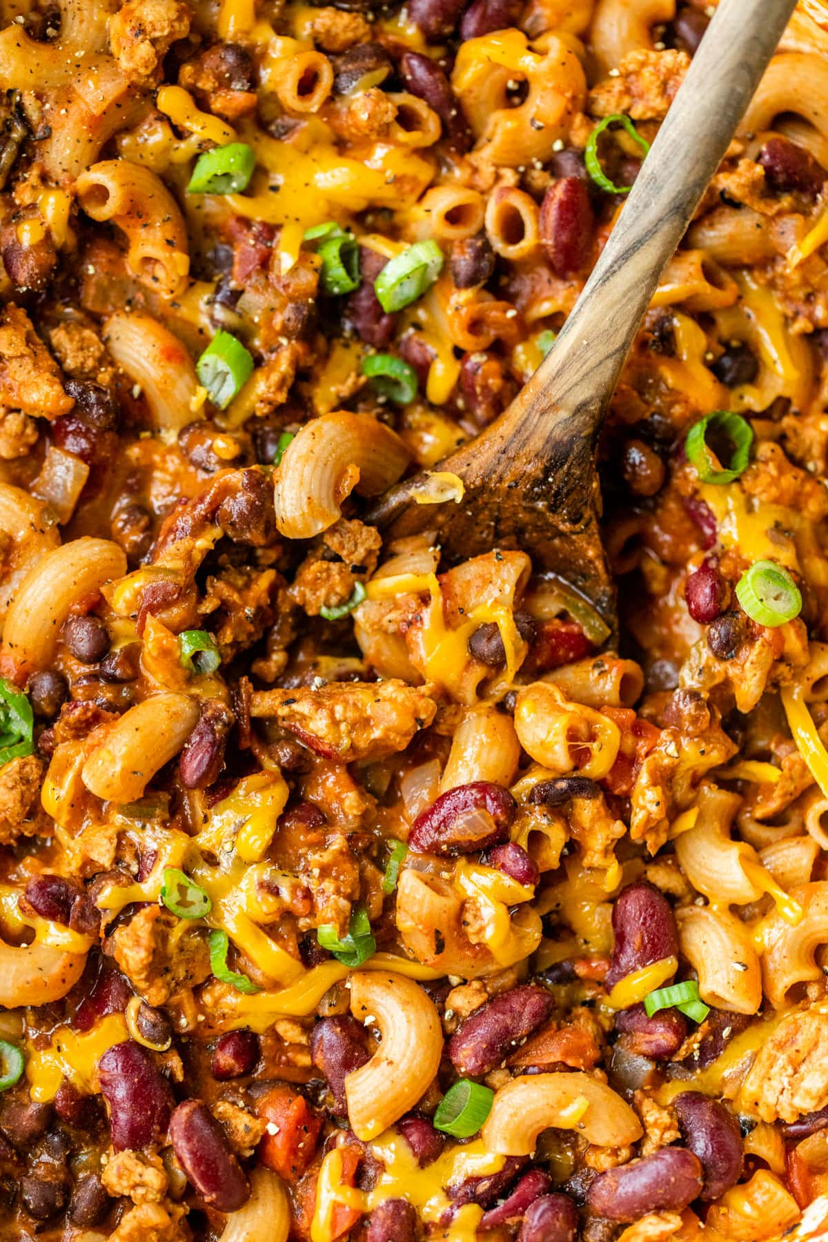 One Pot Chili Mac and Cheese recipe