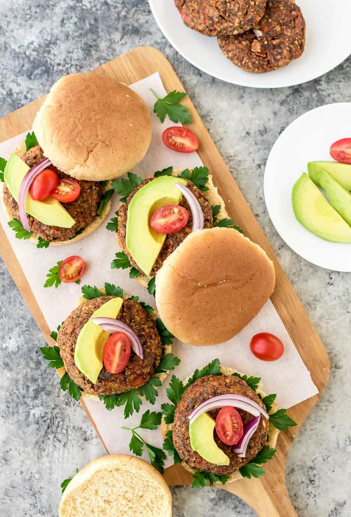 Packed with protein, fiber, omega-3s, and YUMMY. This is the BEST Black Bean Burger Recipe. Vegan, gluten free, and even my meat-loving husband approved! @wellplated