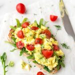 This easy Healthy Egg Salad recipe is a creamy, cool delight that's great for sandwiches for an easy lunch or dinner. So creamy and delicious. Made without mayo!