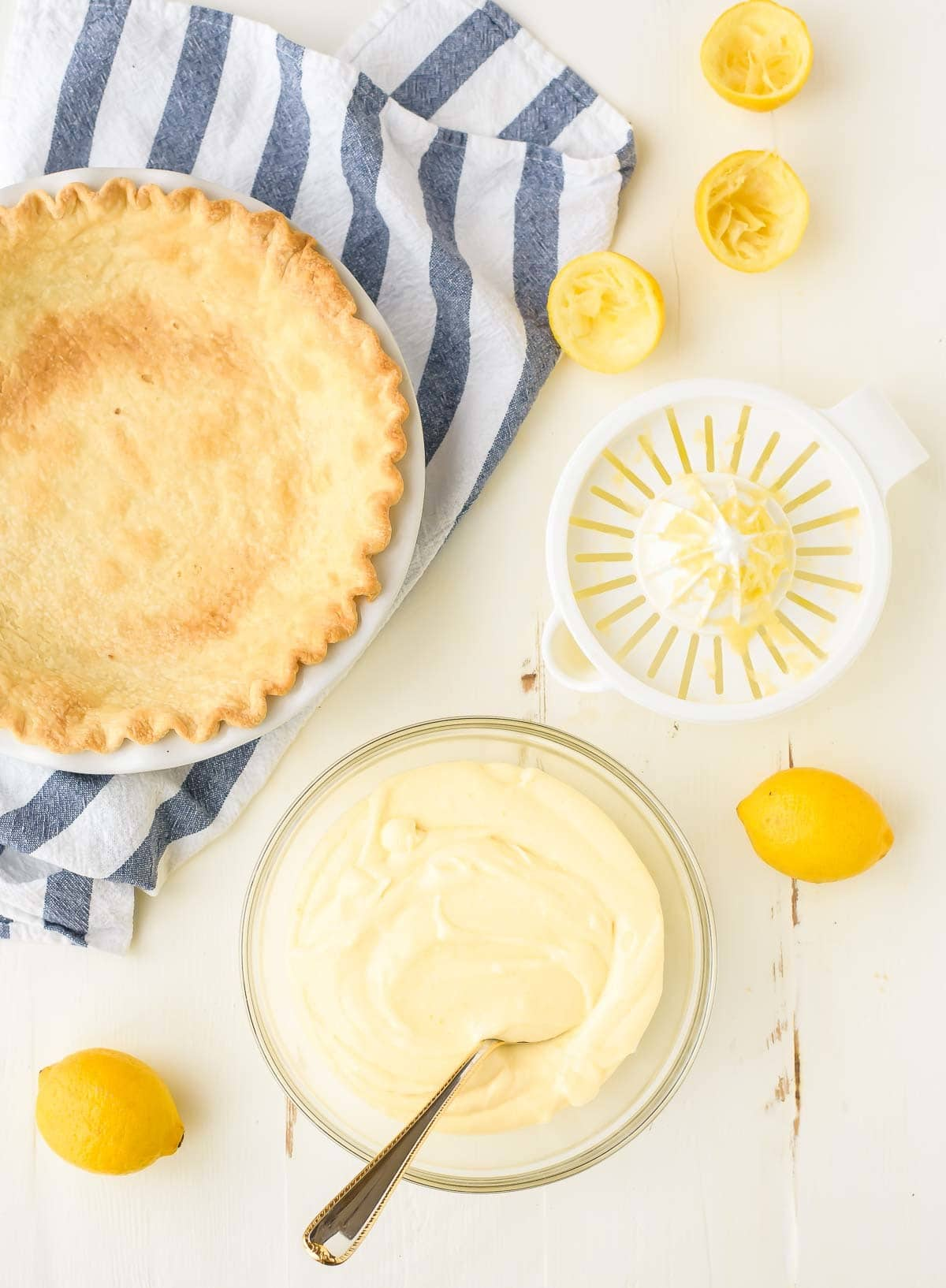 How to make Lemon Cream Pie from scratch @wellplated