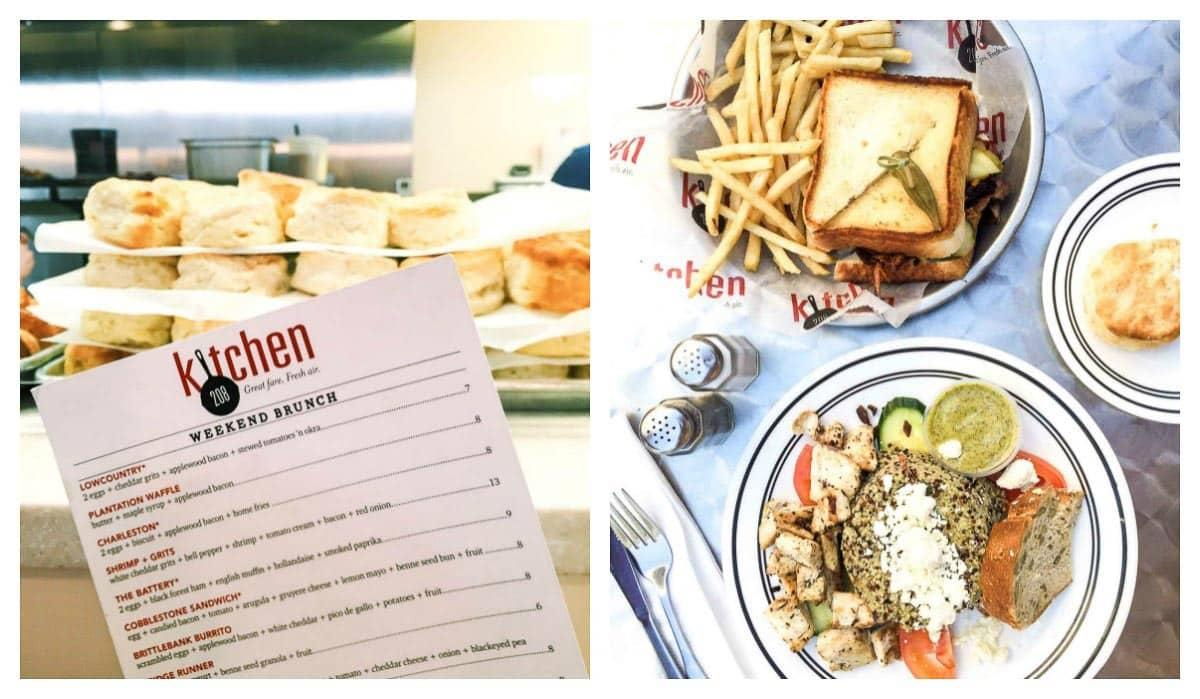 Best Charleston restaurants: Kitchen 208. Perfect Charleston brunch restaurant!