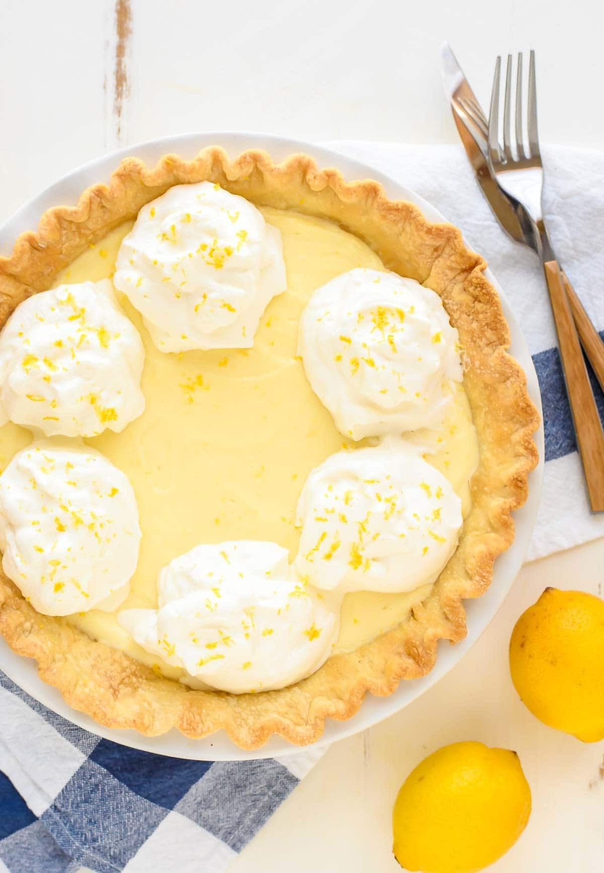 A lusciously rich and silky Lemon Cream, made with cream cheese and lemon custard. This is my grandmother's recipe and has been in our family for 50 years!