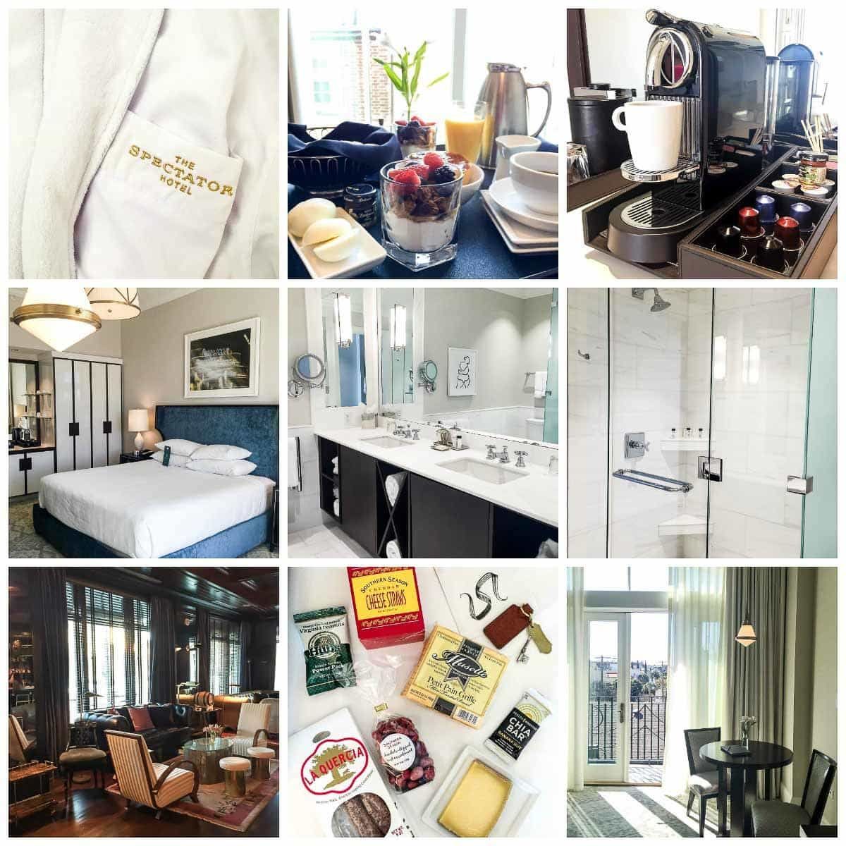 The best hotel to stay in downtown Charleston, South Carolina: The Spectator Hotel
