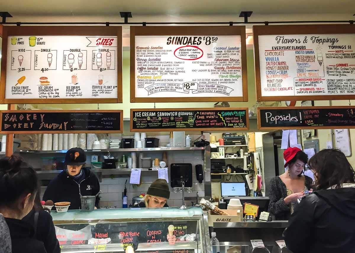 Bi-Rite Ice Cream, a best restaurant in San Francisco