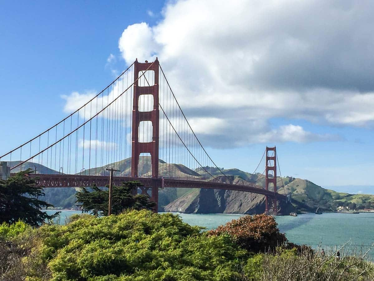 Golden Gate Bridge: A top attraction in San Francisco