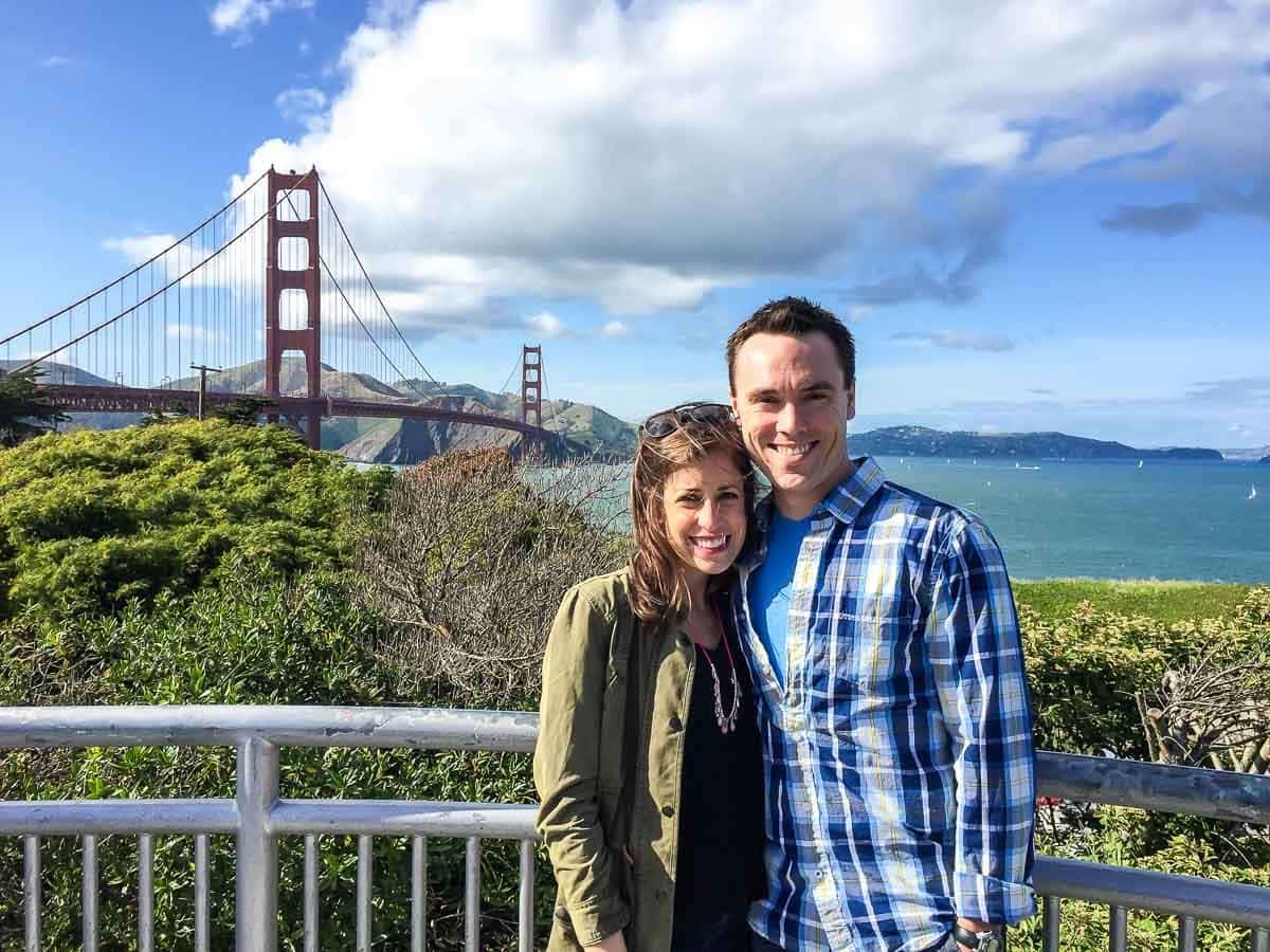 Golden Gate Bridge, one of the best things to do in San Francisco