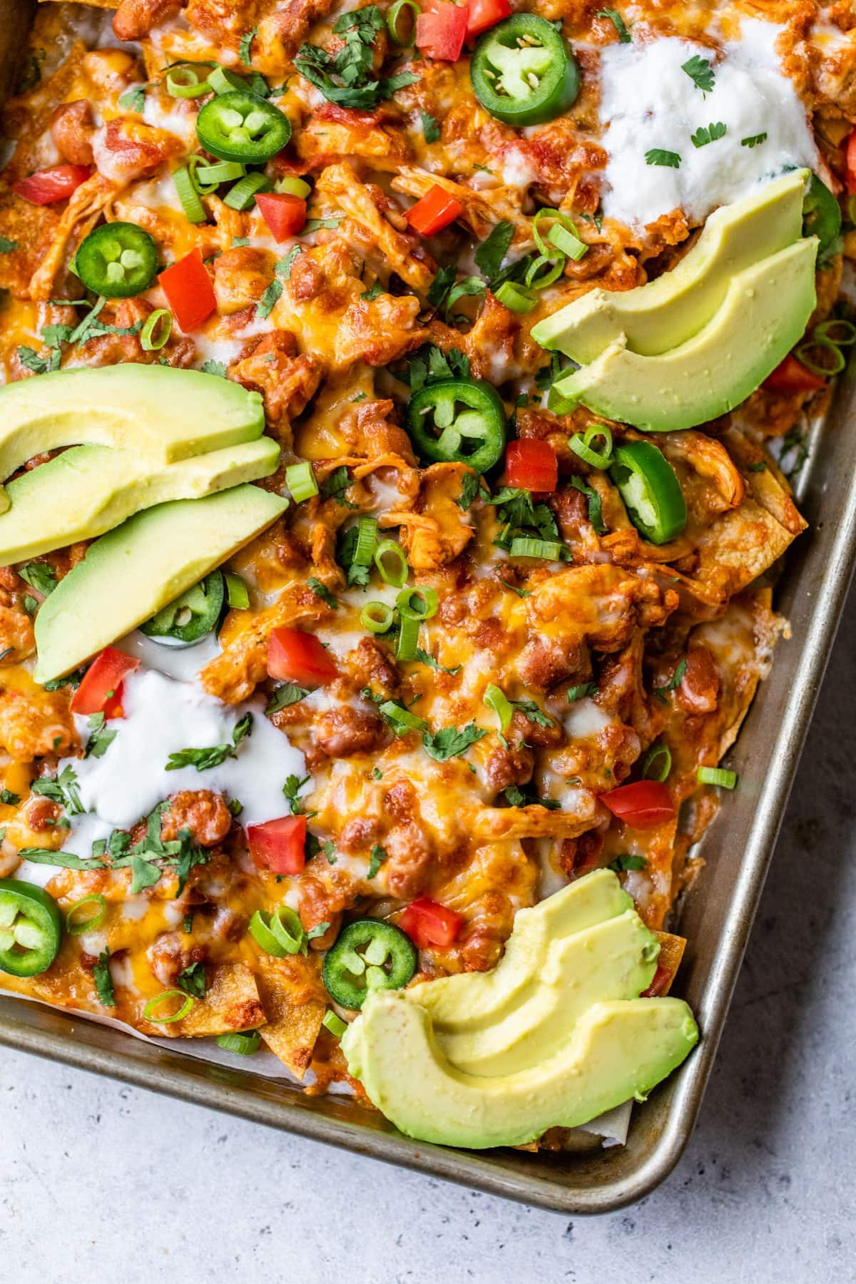 Loaded Healthy Nachos Crock Pot Recipe Well Plated By Erin