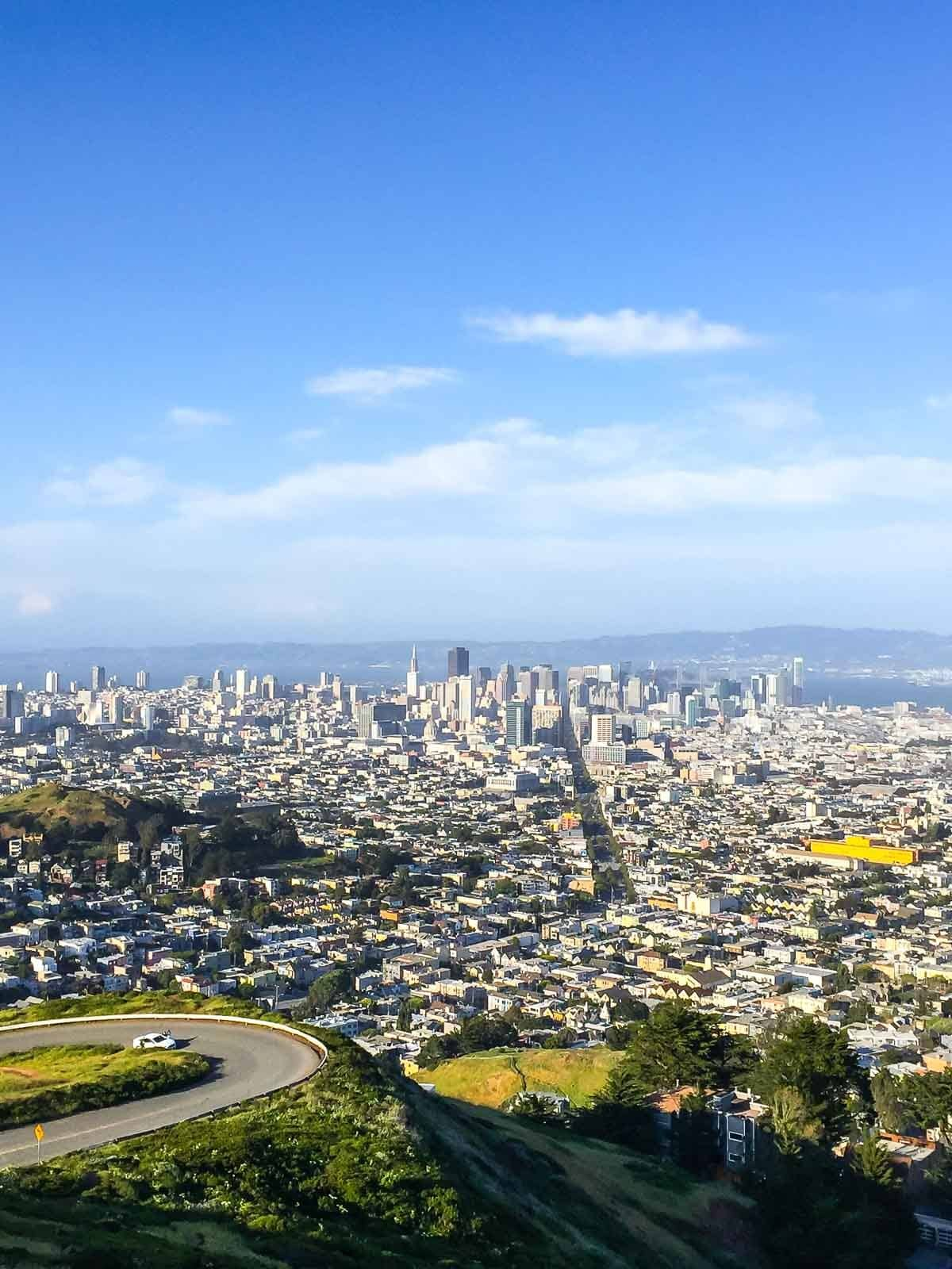 Twin Peaks in San Francisco. A top San Francisco Activity!