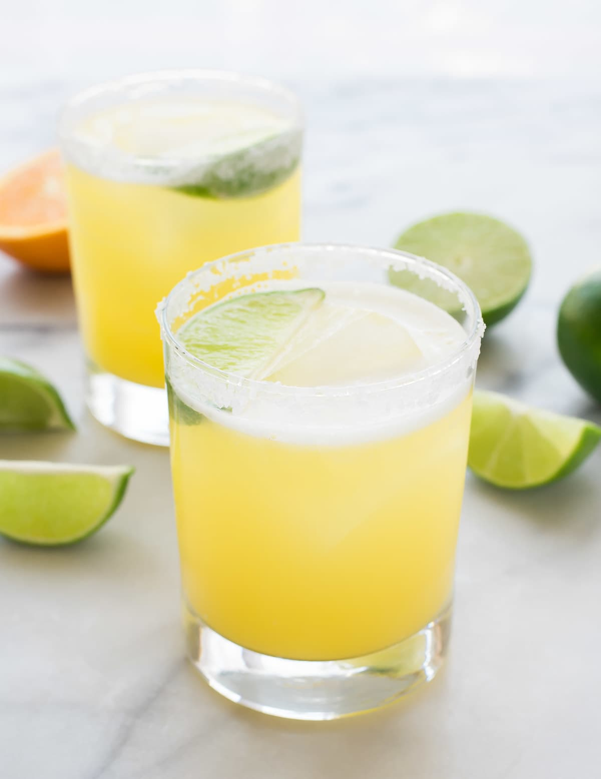 fresh margarita recipe with agave nectar