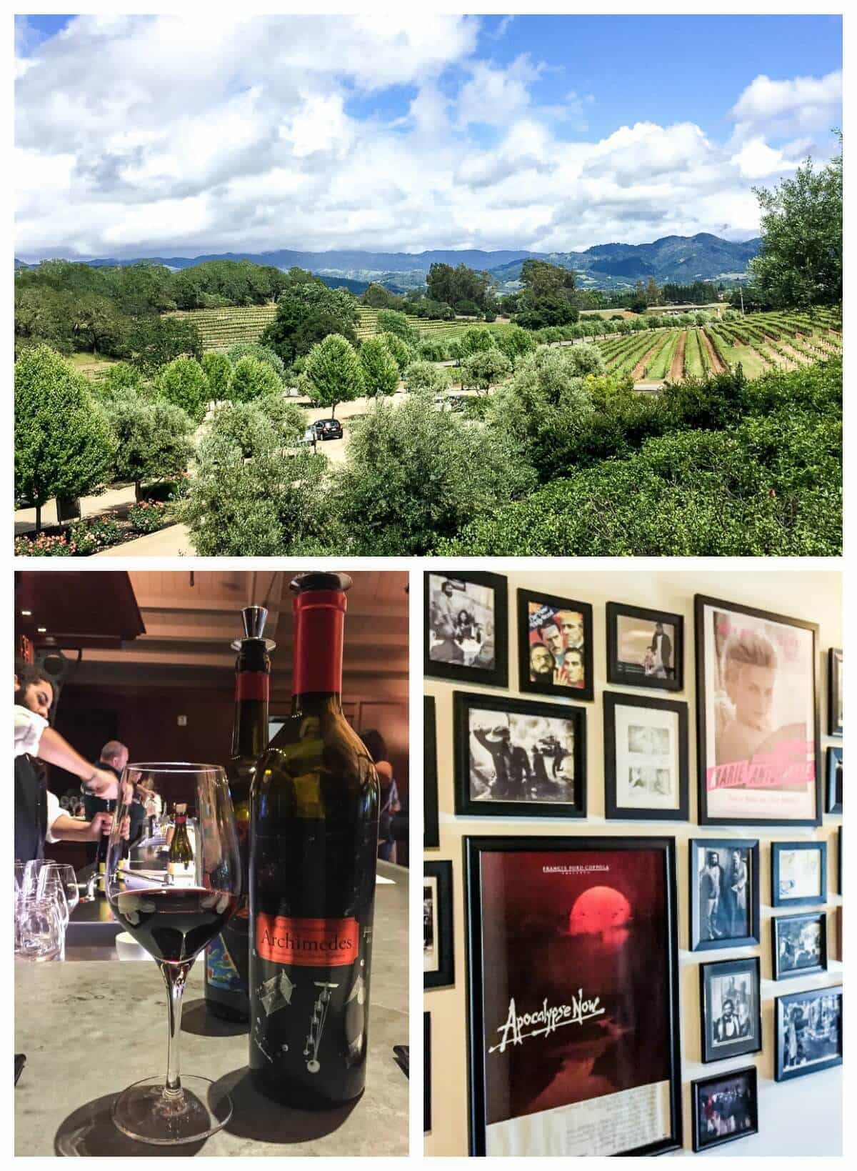 Francis Ford Coppola—one of the best wineries in Sonoma Valley California