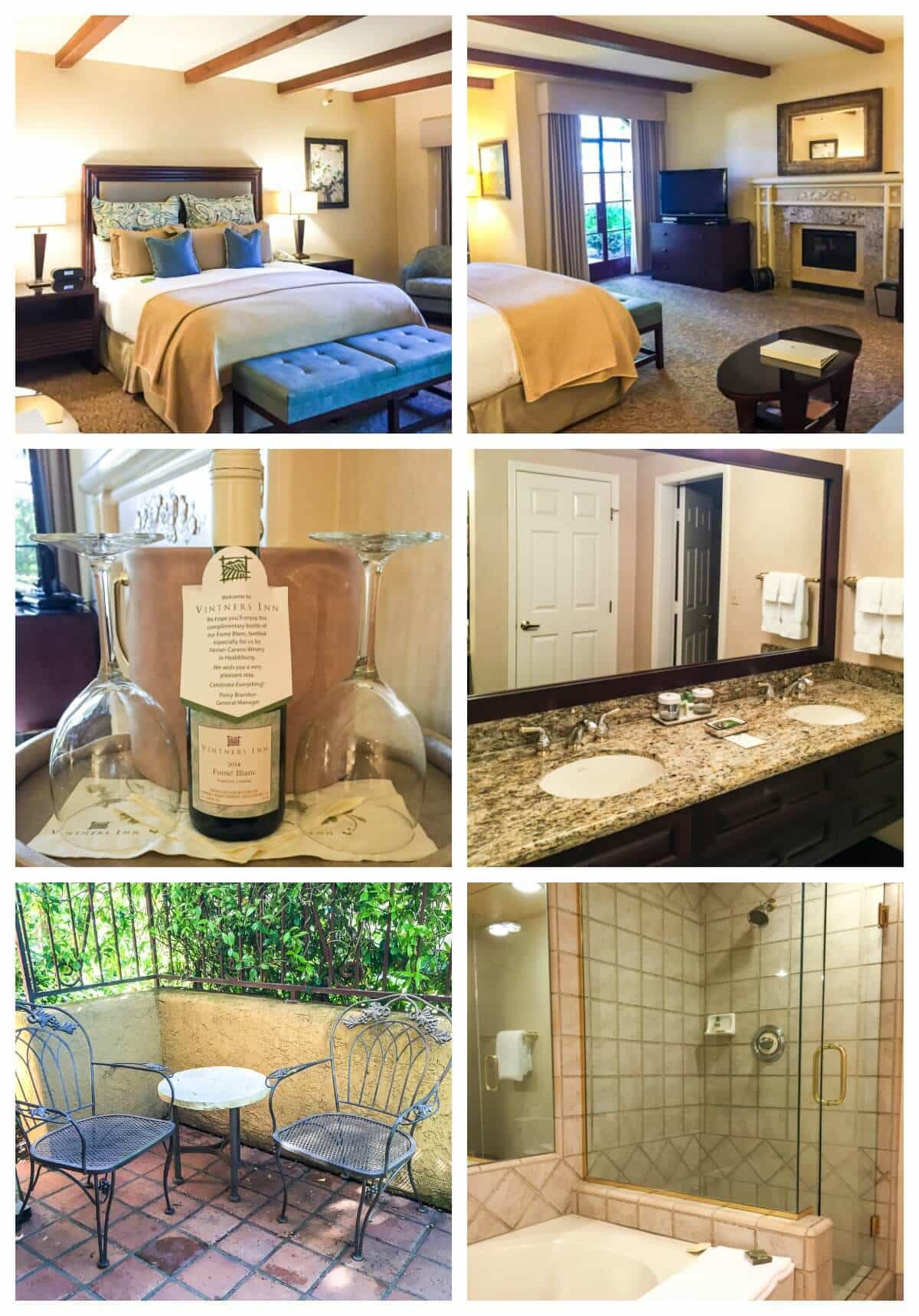 Vintner's Inn Sonoma hotel. Stay here for a perfect trip to Sonoma Valley!