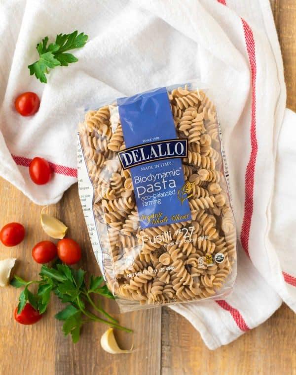 DeLallo Biodynamic Whole Wheat Pasta