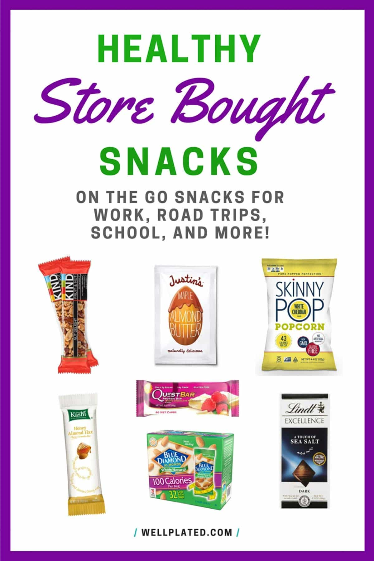 Healthy Snacks for Work to Keep at Your Desk