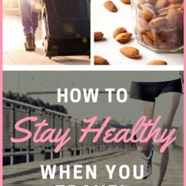 Whether you are traveling for work or going on vacation, these healthy travel tips will help you stay in shape when you travel. REALISTIC, helpful ideas including healthy travel snacks, exercise motivation, and more. @wellplated