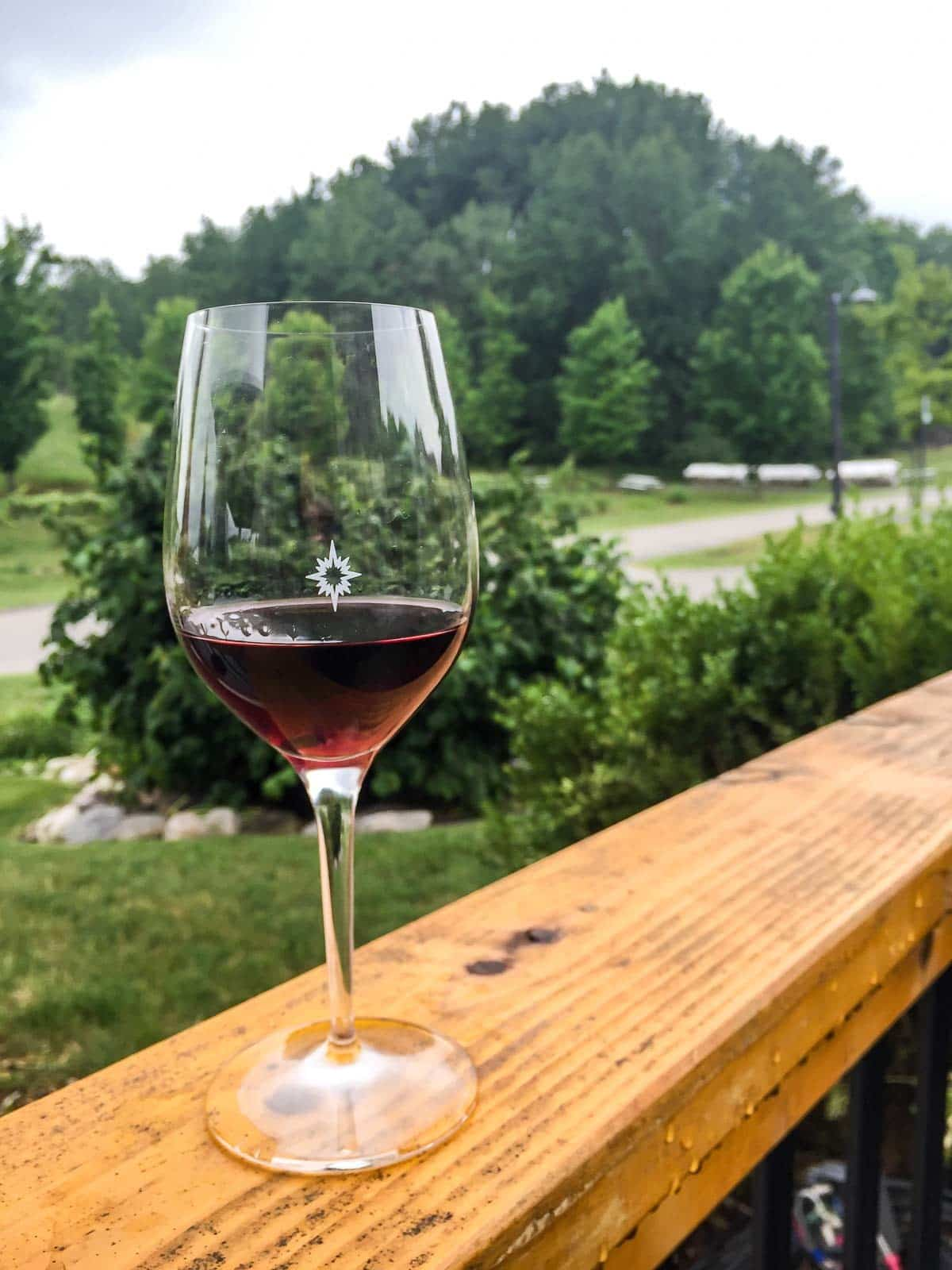 Black Star Farms winery in Suttons Bay, Michigan