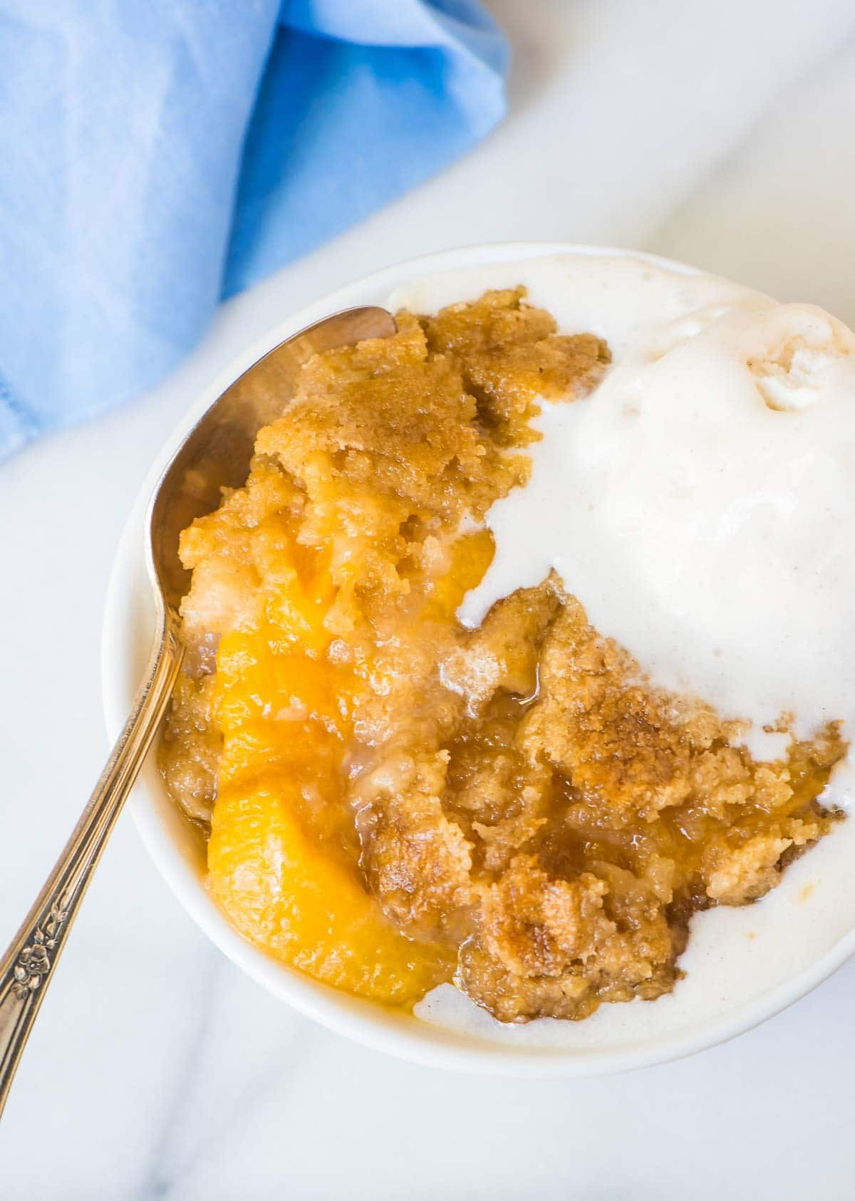 Crock Pot Peach Cobbler Recipe With Cake Mix