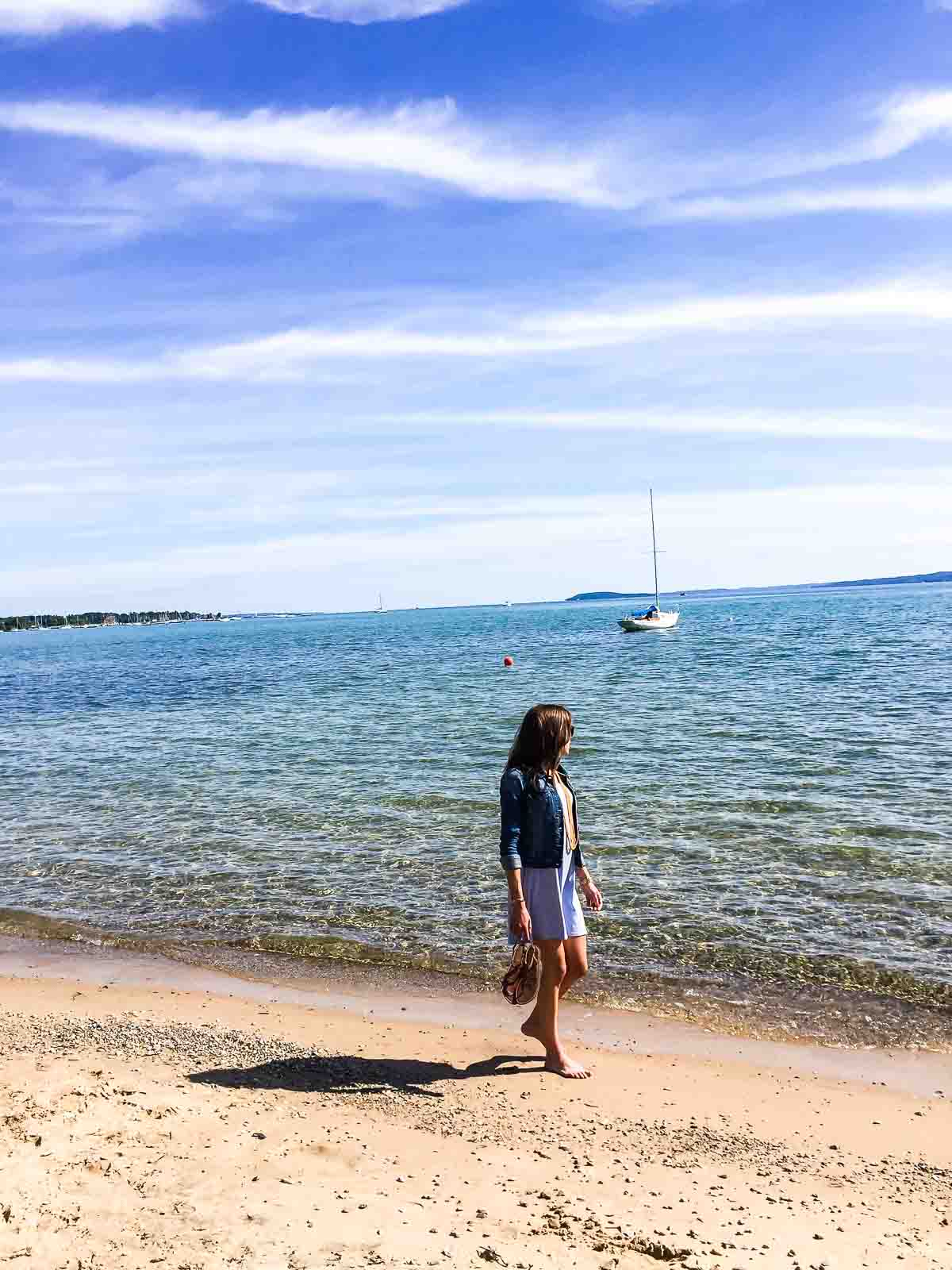 Lake Michigan in Traverse City—National Cherry Festival