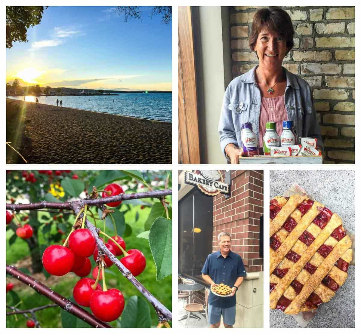 Highlights of the National Cherry Festival in Traverse City Michigan