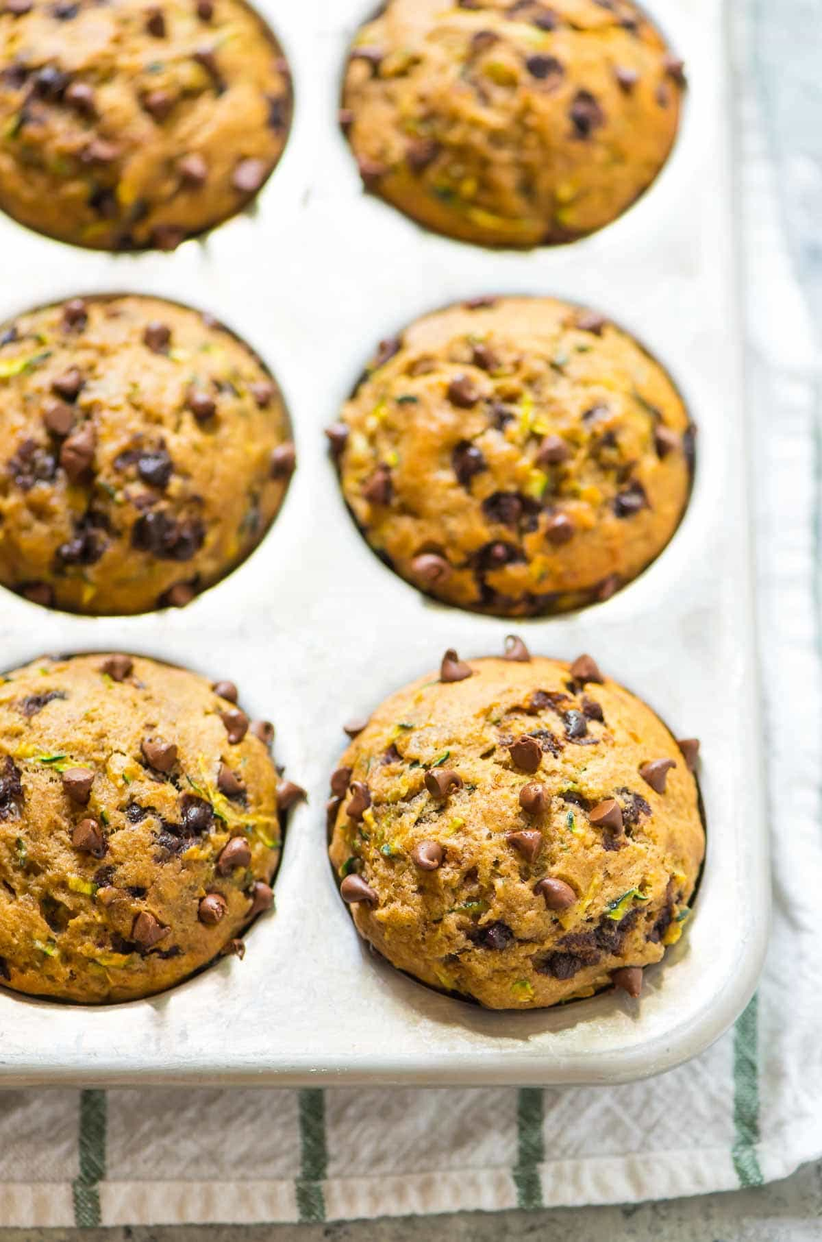 ... zucchini muffins are at the very least day changing , which after the