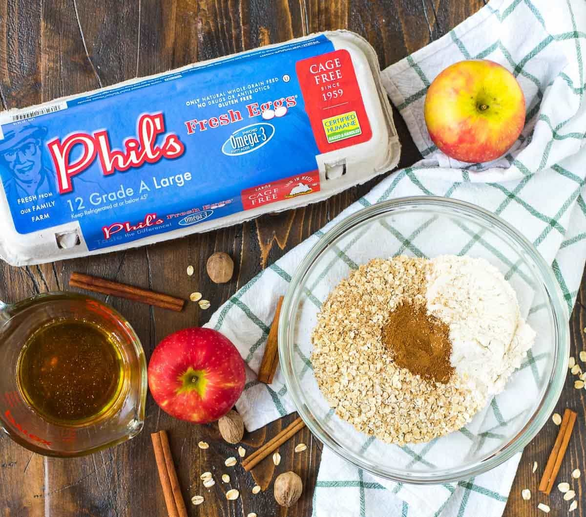 Delicious and healthy Apple Oatmeal Cookies. @wellplated