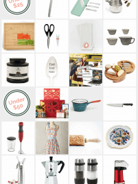 Great kitchen holiday gift ideas for every price range! Options under $25. Unique Christmas gifts for anyone who loves to cook.   wellplated.com @wellplated