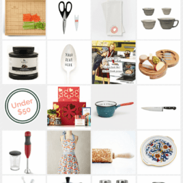 Great kitchen holiday gift ideas for every price range! Options under $25. Unique Christmas gifts for anyone who loves to cook. | wellplated.com @wellplated