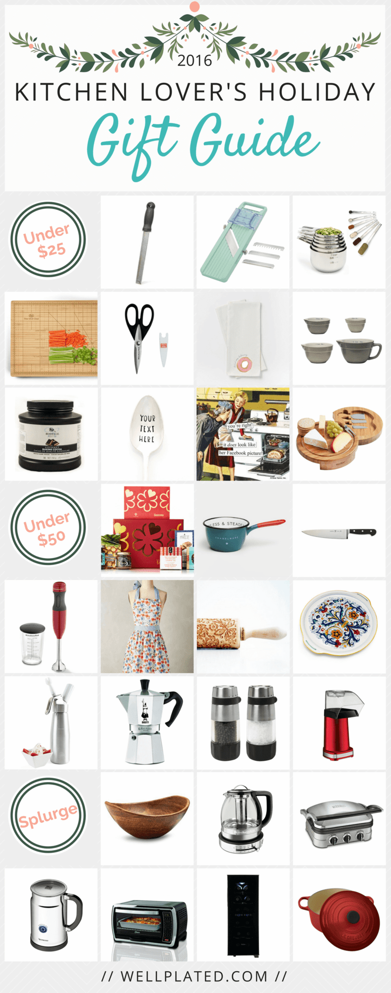 Kitchen lover 39 s gift guide well plated by erin Gifts for kitchen lovers