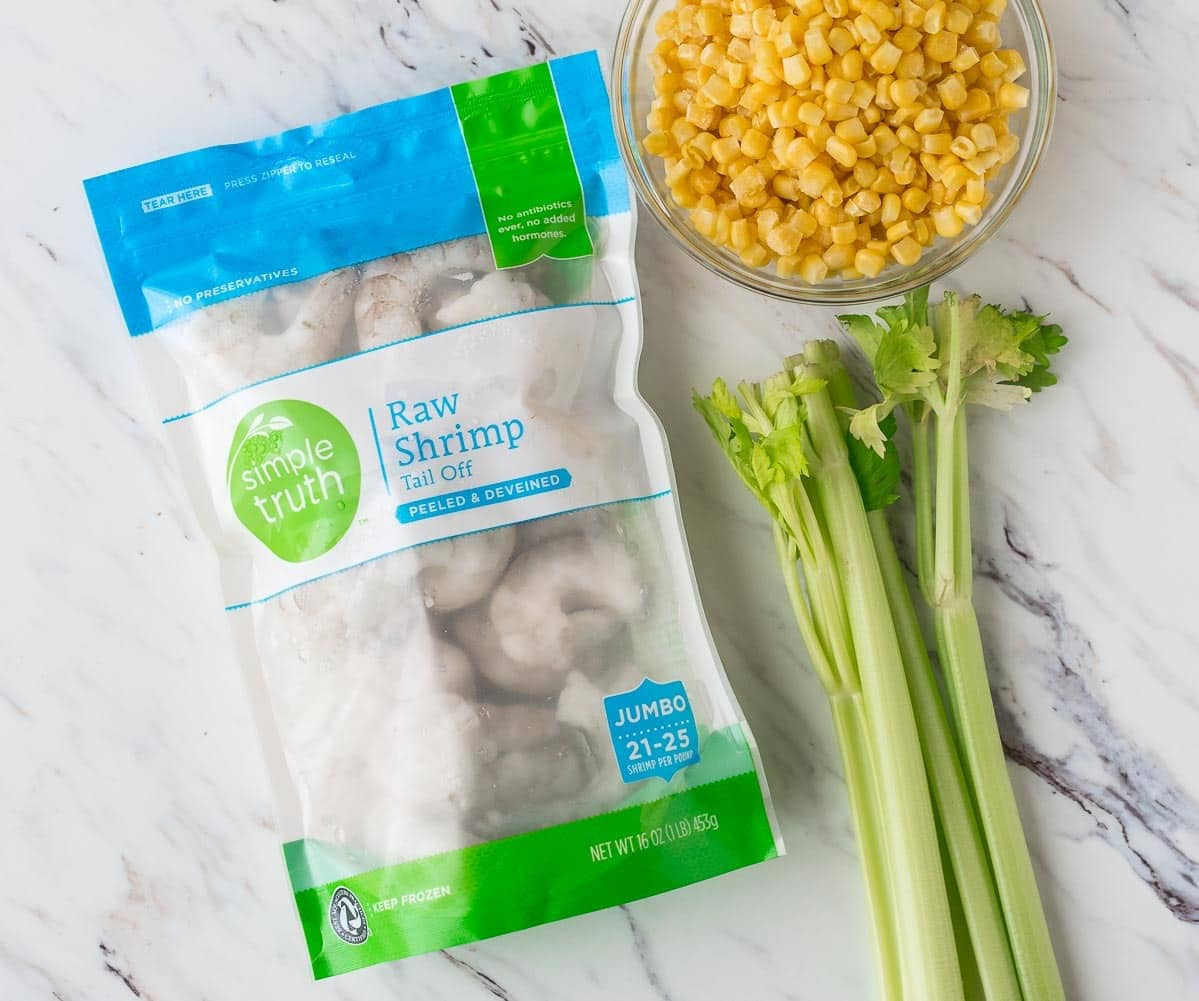 Easy Shrimp Corn Chowder Soup